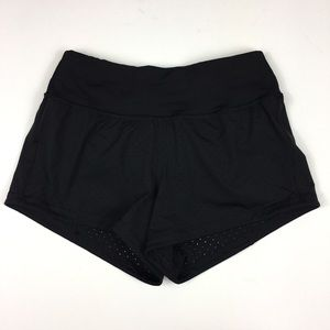 Lululemon Black Shorts with Ventilation Holes